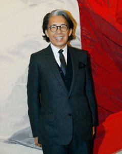 noto stilista giapponese Kenzo Tagada